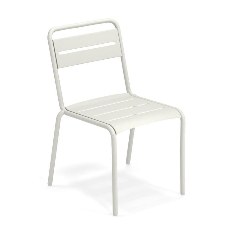 Star Stuhl in weiß von Emu