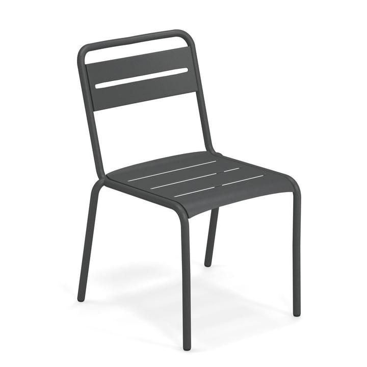 Star Stuhl in antikeisen von Emu