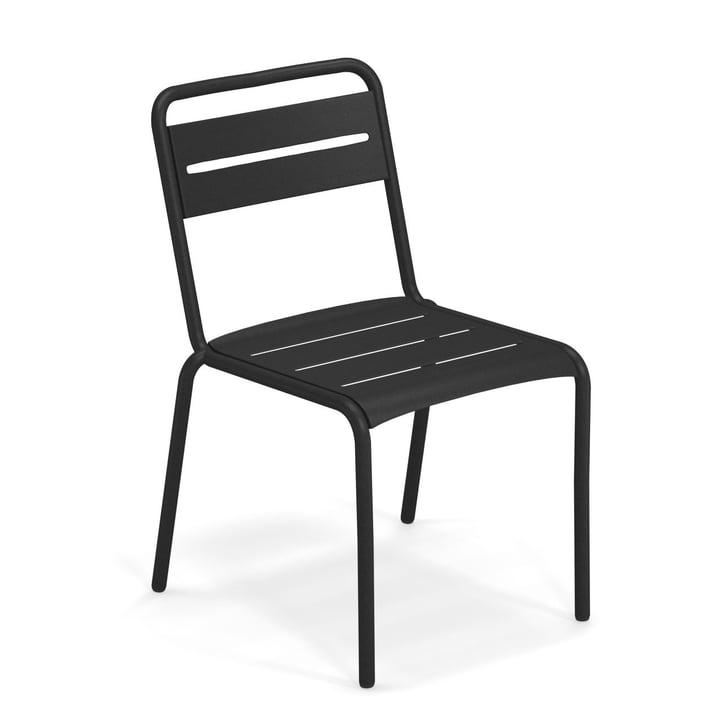 Star Stuhl in schwarz von Emu