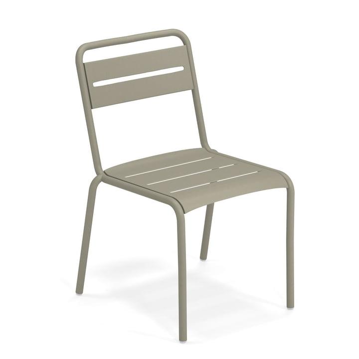 Star Stuhl in graugrün von Emu