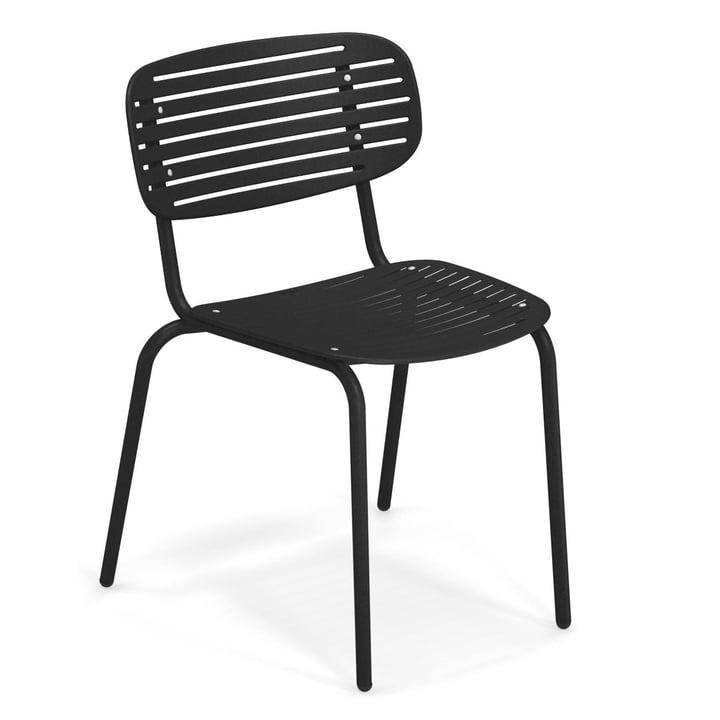 Mom Stuhl in schwarz von Emu
