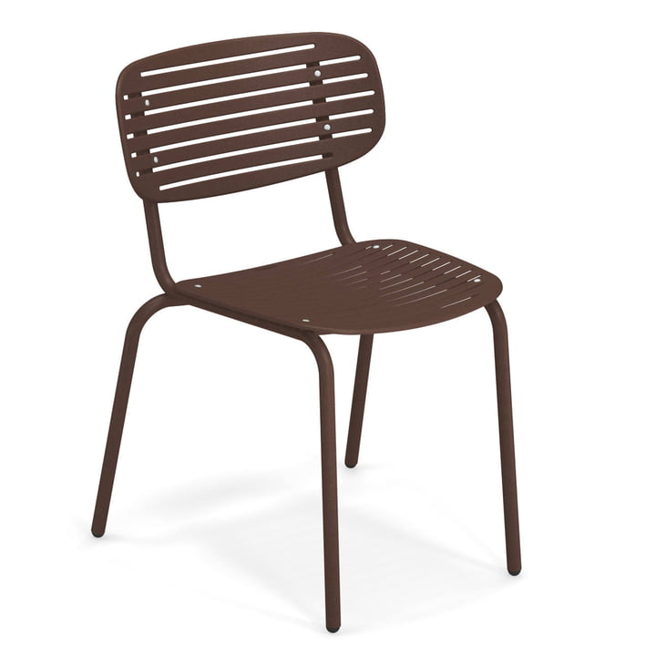 Mom Stuhl in indischbraun von Emu