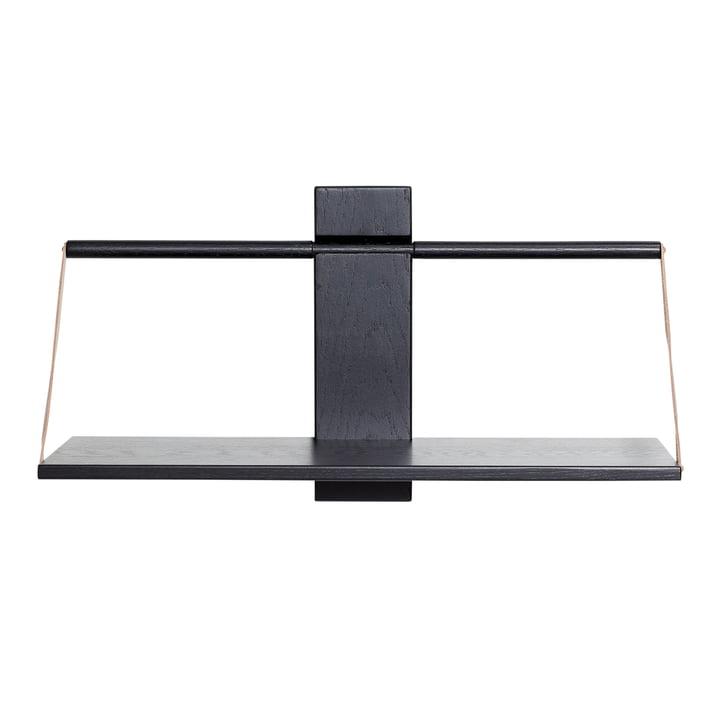 Wood Wall Hängeregal 60 x 25 x H 32 cm von Andersen Furniture in schwarz