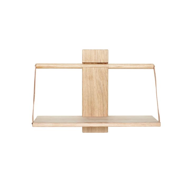 Wood Wall Hängeregal 45 x 20 x H 32 cm von Andersen Furniture aus Eiche