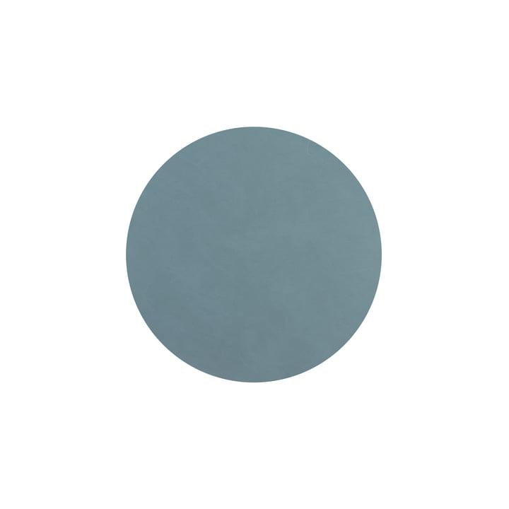 Glasuntersetzer rund Ø 10 cm von LindDNA in Nupo hellblau