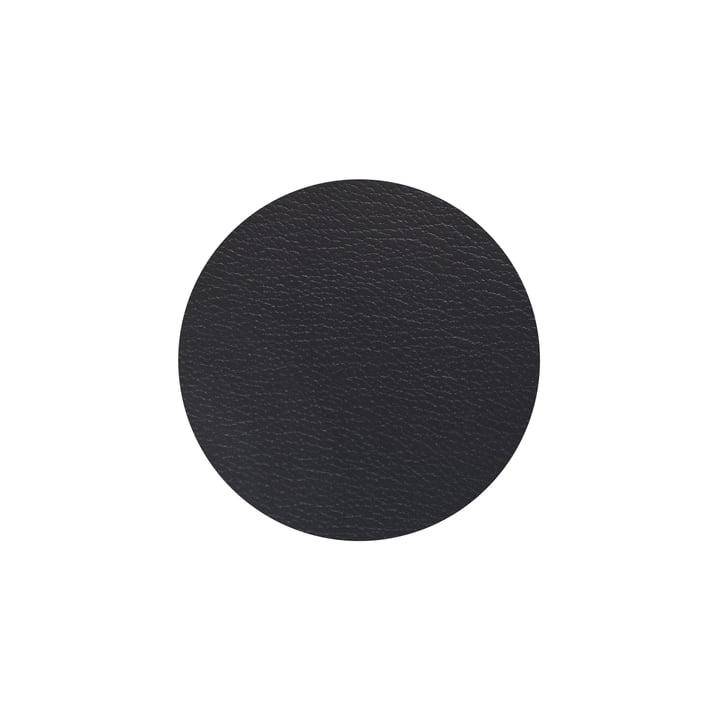 Glasuntersetzer rund Ø 10 cm von LindDNA in Bull schwarz