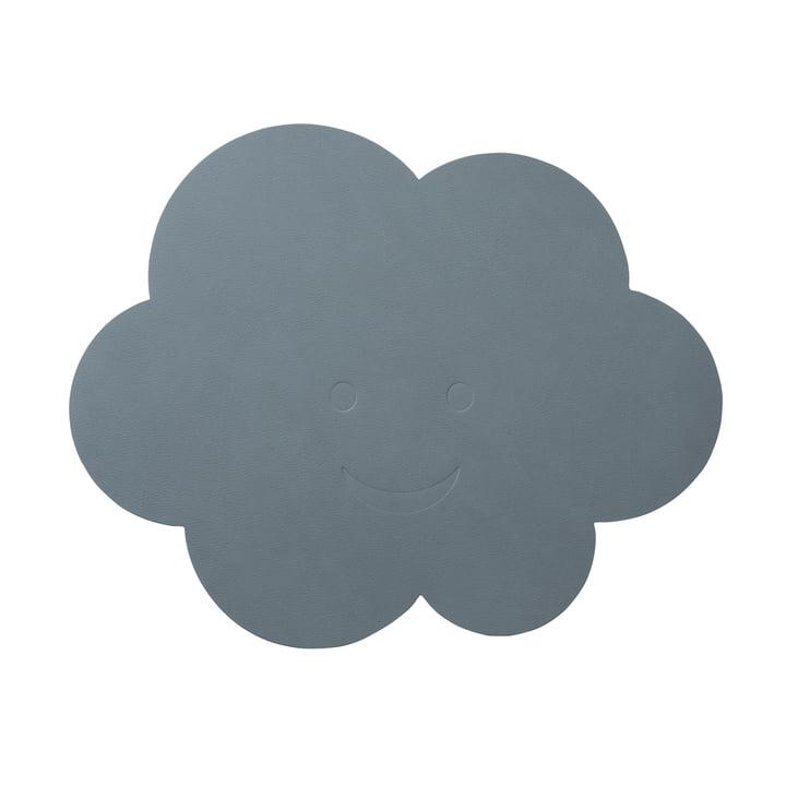 Kinder-Tischset Wolke von LindDNA in Nupo hellblau