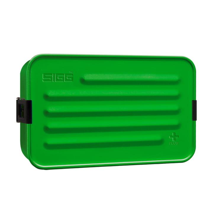 Aluminium Box Brotdose Plus L von Sigg in grün