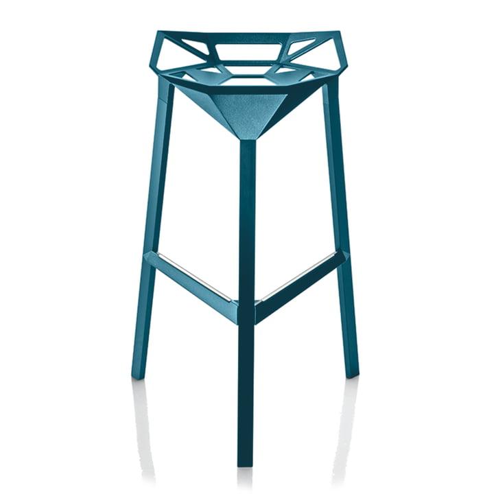 Stool One 67 cm in blau von Magis
