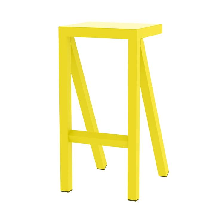 Bureaurama Küchen-Hocker H 62 cm in gelb von Magis