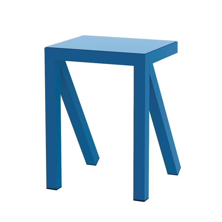 Bureaurama Hocker H 50 cm in blau von Magis