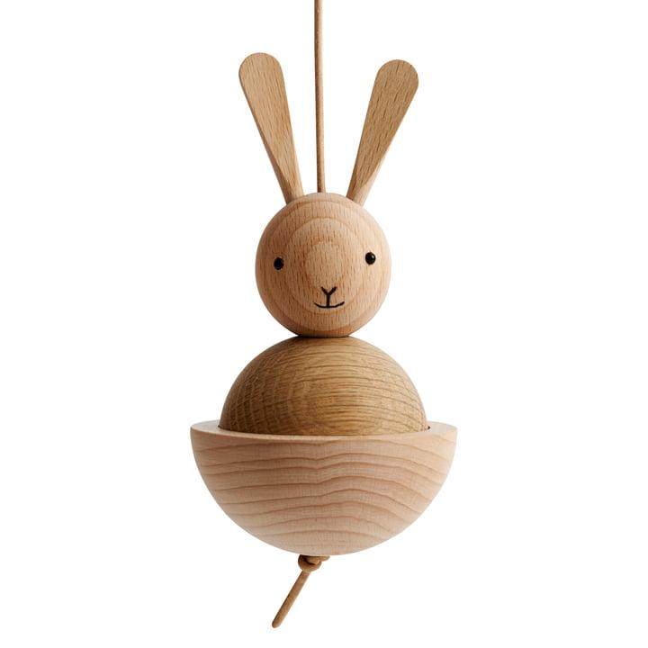 Holzfigur Hase von OYOY in Eiche / Buche