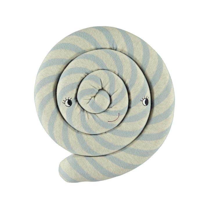 Lollipop Kissen Ø 30 cm von OYOY in blau