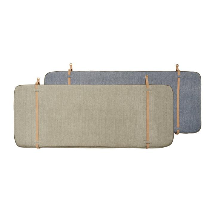 Bett Kopfteil 180 cm von OYOY in beige / dunkelblau