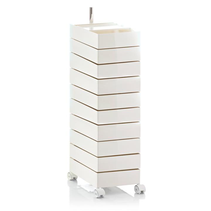 360° Container 10 Schubladen von Magis in weiß