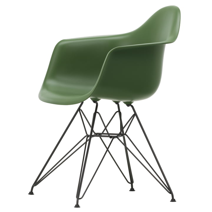 Eames Plastic Armchair DAR von Vitra in basic dark / forest
