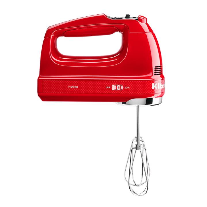 Queen of Hearts Handrührer (7 Geschwindigkeitsstufen) von KitchenAid in passion red (Limited Edition)