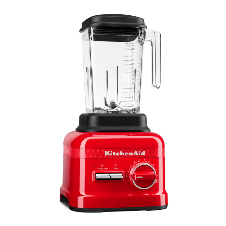 Queen of Hearts Artisan X1 High Performance Series Standmixer von KitchenAid in passion red (Limited Edition)