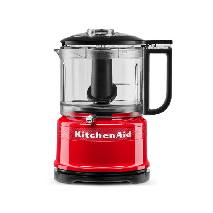 Queen of Hearts Mini-Food-Processor Zerkleinerer von KitchenAid in passion red (Limited Edition)