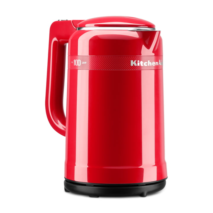 Queen of Hearts Design Wasserkocher 1,5 l von KitchenAid in passion red (Limited Edition)