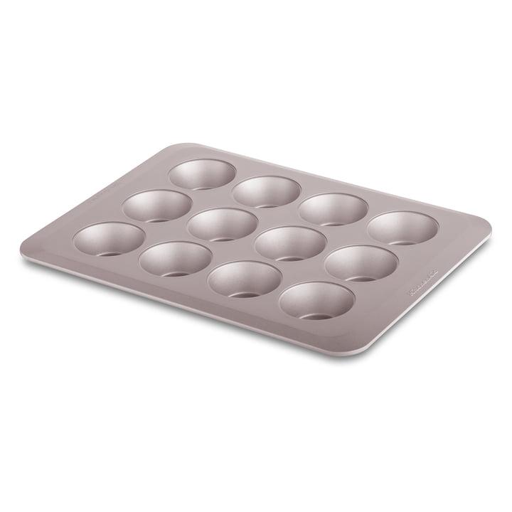 Muffinform für 12 Stück antihaftbeschichtet von KitchenAid in warm stardust