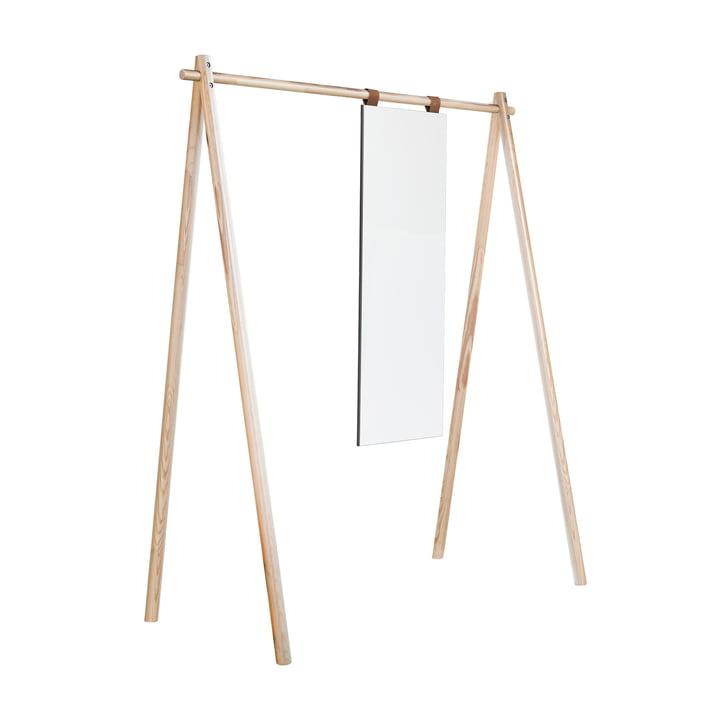 Hongi Garderobe mit Spiegel in Natur von Karup Design