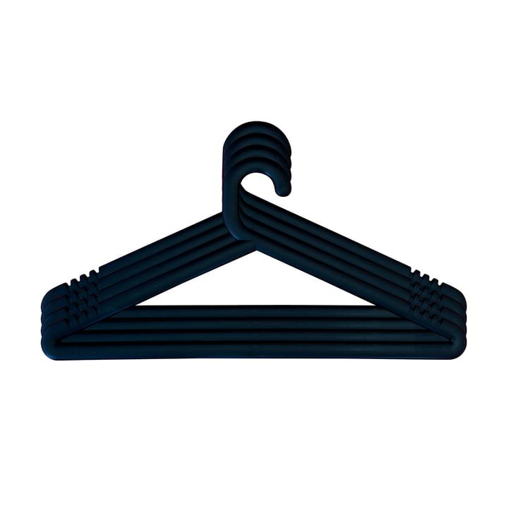 Hongi Kleiderbügel in schwarz (4er-Set) von Karup