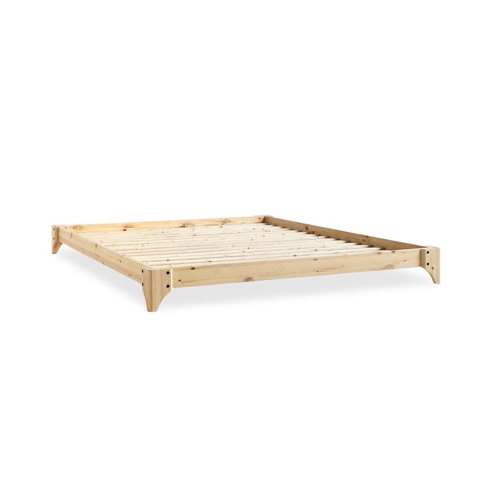 Elan Bett, 140 x 200 cm in Natur von Karup Design