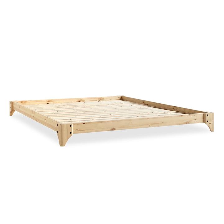 Elan Bett, 180 x 200 cm in Natur von Karup Design