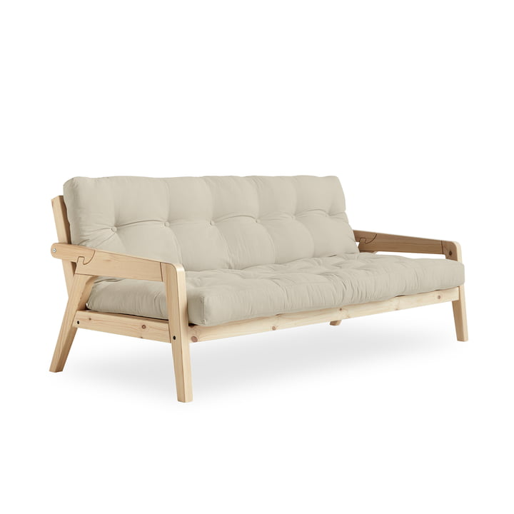 Grab Sofa in Natur / beige (747) von Karup Design