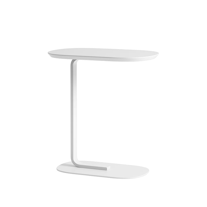 Relate Side Table in off-white von Muuto