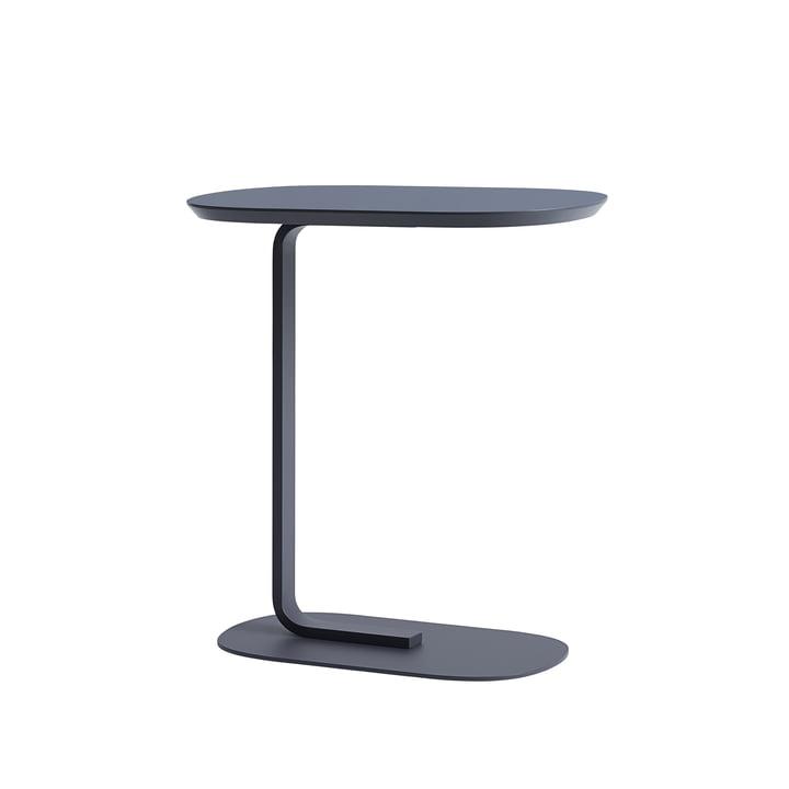 Relate Side Table in blau-grau von Muuto