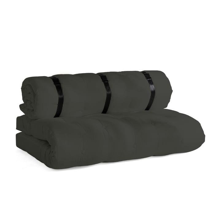 Buckle Up OUT Sofa in dunkelgrau (403) von Karup Design