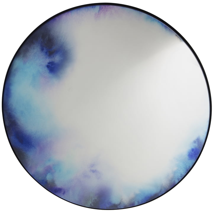 FrancisWandspiegel extra-large von Petite Friture in blau / lila
