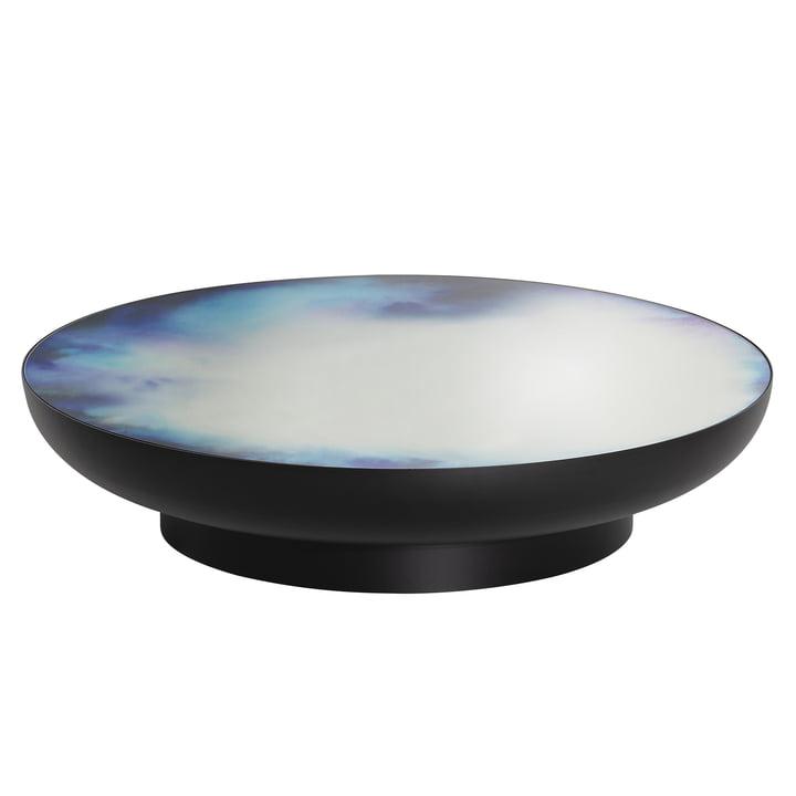 Francis Couchtisch Ø 110 x H 24 cm von Petite Friture in schwarz / blau und lila