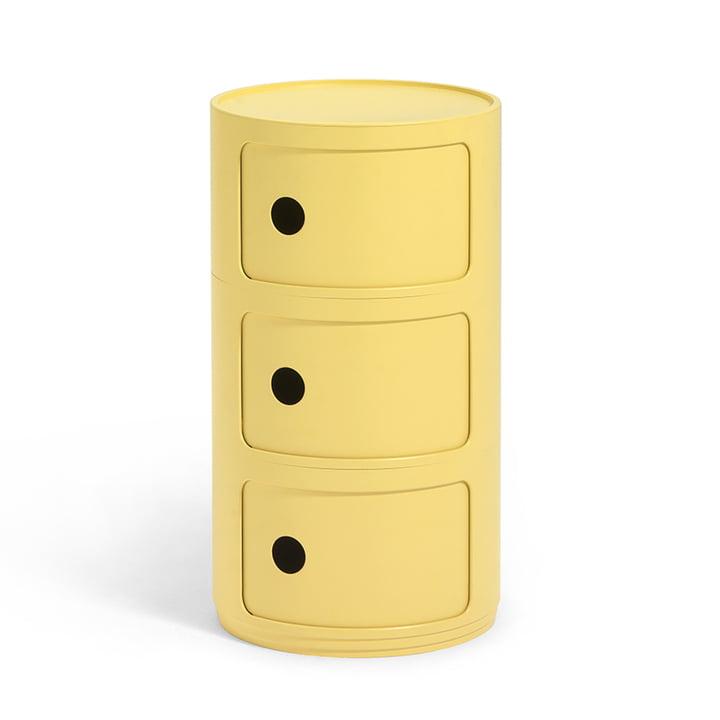Componibili Bio 5970 von Kartell in gelb