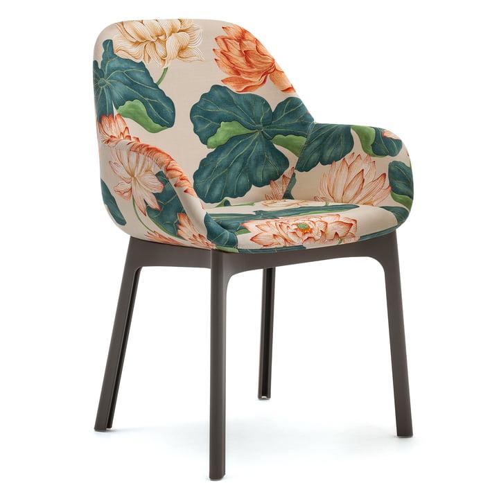 Clap Stuhl 4184 von Kartell in grau / kew