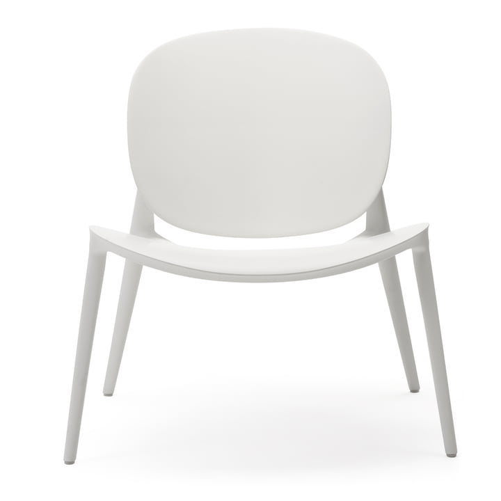 Be Bop Sessel von Kartell in weiß matt