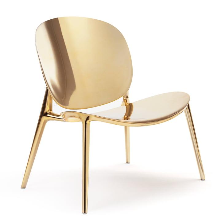 Be Bop Sessel von Kartell in gold metallic