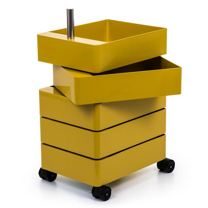 360° Container 5 Fächer in gelb von Magis