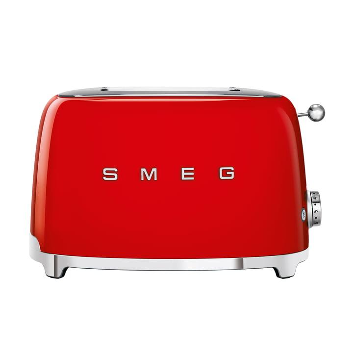 2-Scheiben ToasterTSF01 in rot von Smeg