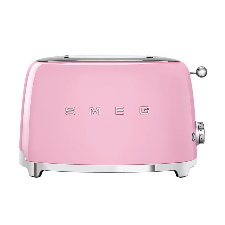 2-Scheiben ToasterTSF01 in cadillac pink von Smeg