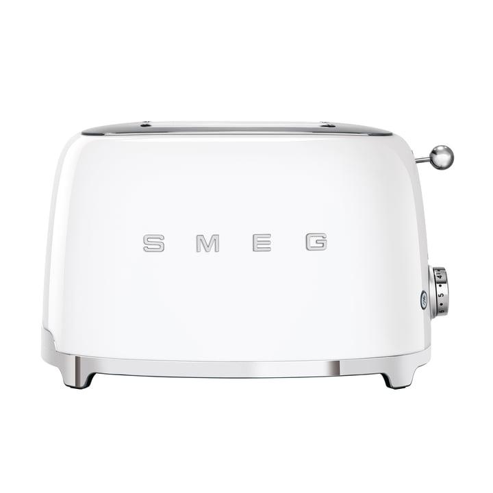 2-Scheiben ToasterTSF01 in weiß von Smeg