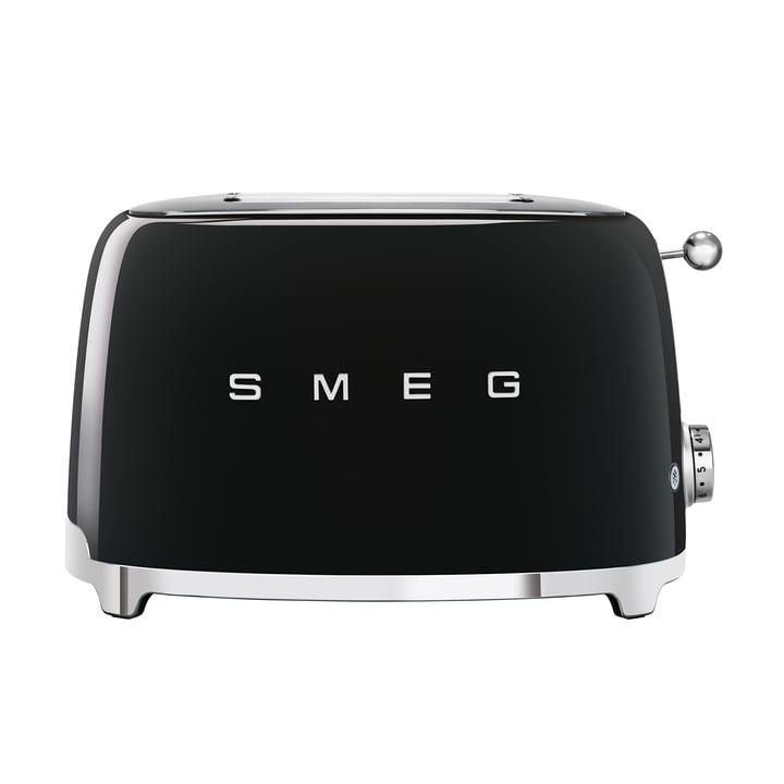 2-Scheiben ToasterTSF01 in schwarz von Smeg