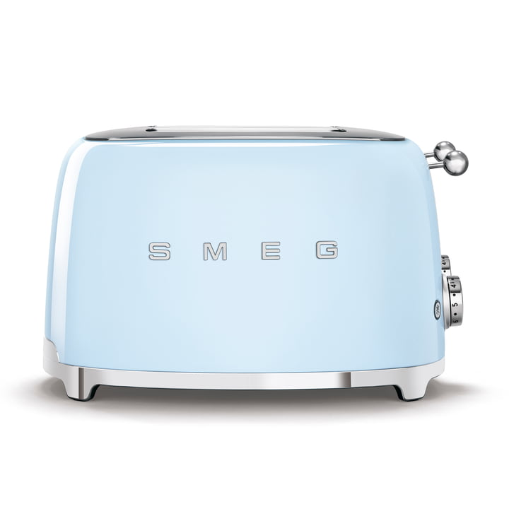 4-Scheiben Toaster TSF03 in pastellblau von Smeg