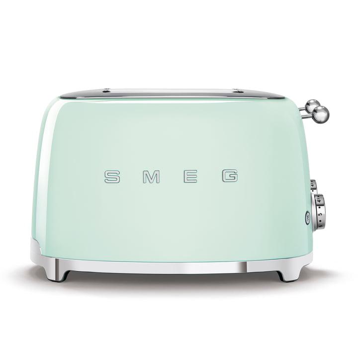 4-Scheiben Toaster TSF03 in pastellgrün von Smeg