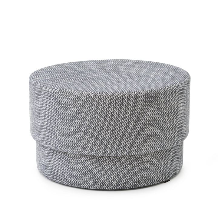 Silo Pouf medium, Ø 70 x H 43 cm in Navy Blue / Albagia 288 von Normann Copenhagen