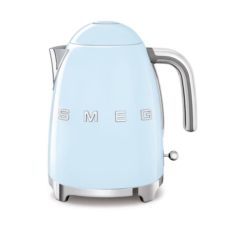 Wasserkocher 1,7 l (KLF03) in pastellblau von Smeg