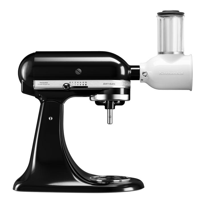 Artisan Küchenmaschine 4.8 l, Veggi Set in onyx schwarz von KitchenAid