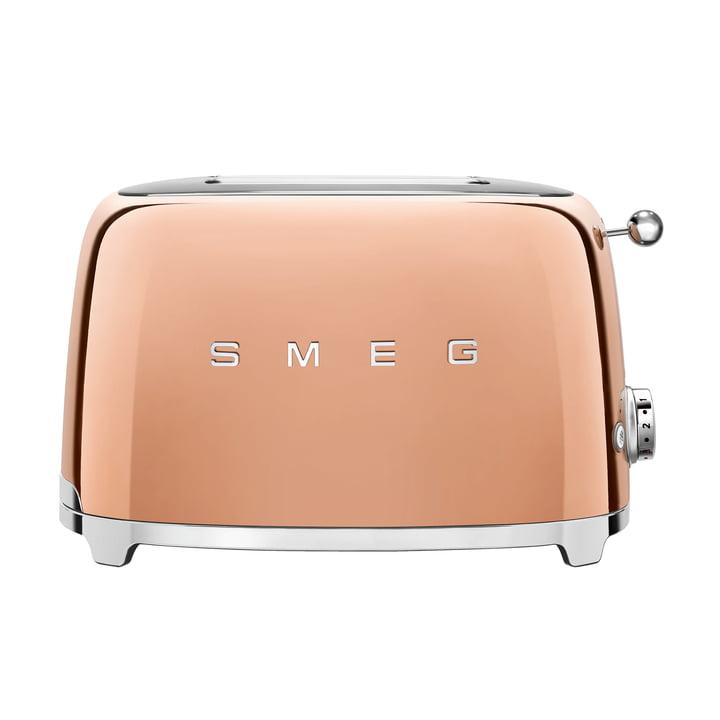 2-Scheiben ToasterTSF01 in rosegold von Smeg